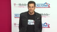 Zachary Levi at the TMobile Magenta Carpet At The 2011 NBA AllStar Game at Los Angeles CA
