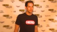 Zachary Levi at the Wired Cafe at ComicCon at San Diego CA