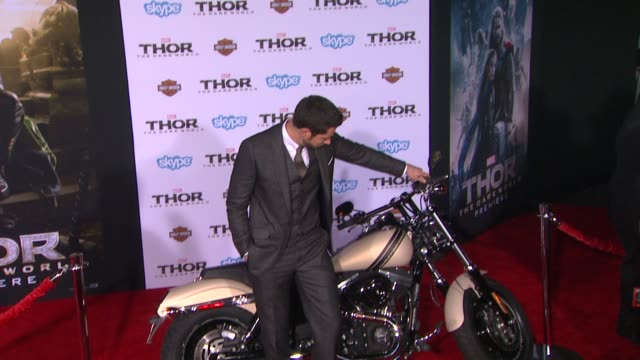Zachary Levi at 'Thor The Dark World' Los Angeles Premiere in Hollywood CA on
