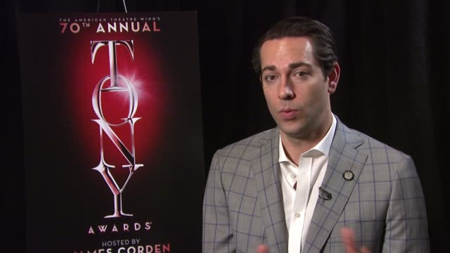 INTERVIEW Zachary Levi discusses the intensity of a nomination talks about the uniqueness of having to be present to view theatre and how different...