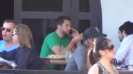 Zachary Levi has some lunch on the streets at San DiegoComic Con at Celebrity Sightings ComicCon International 2013 Zachary Levi has some pizza on...