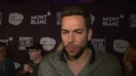 INTERVIEW Zachary Levi on how much fun he had doing the show On supporting the arts on why he wanted to take part at Montblanc Presents the 13th...
