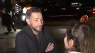 Zachary Levi outside the Pre SAG Awards Party at Chateau Marmont in West Hollywood in Celebrity Sightings in Los Angeles