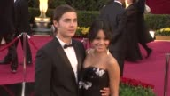Zack Efron and Vanessa Hudgens at the 81st Academy Awards Arrivals at Los Angeles CA
