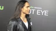 Zahn McClarnon at the Premiere of Hulu's 'Shut Eye' on December 01 2016 in Beverly Hills California