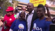 Zambian officials barred South Africas main opposition leader from entering the country Thursday claiming he was blocked over his support for an...