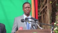 Zambian President Edgar Lungu justifies declaring a state of emergency by alleging that opposition parties were behind a string of arson attacks...