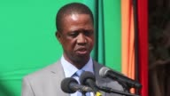 Zambian President Edgar Lungu justifies imposing a state of emergency by alleging that opposition parties are behind a string of arson attacks...