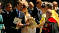 Zara and Mike Tindall wanted control over baby Mia photos R04061307 / Westminster Abbey DAY Prince William Duke of Cambridge and Catherine Duchess of...