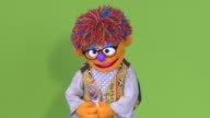 Zeerak the bespectacled orange muppet is the latest innovation from Sesame Street in Afghanistan a children's TV character who reveres his educated...