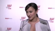 INTERVIEW Zelda Williams on being a part of the night her favorite thing about the brand what projects she's working on at Abercrombie Fitch's 'The...