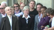 Zeljko Ivanek Glenn Close Kenny Johnson Walton Goggins and CCH Pounder at the Glenn Close Receives a Star on the Hollywood Walk of Fame at Los...