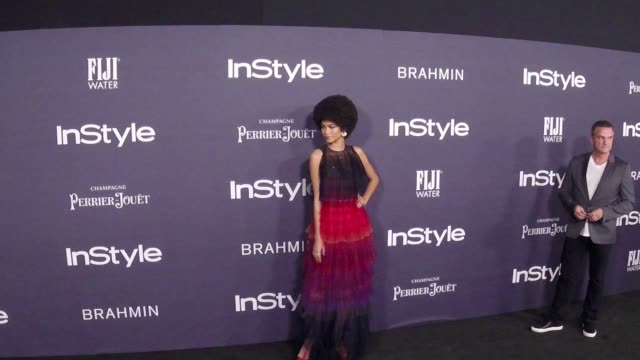 Zendaya at the 3rd Annual InStyle Awards on October 23 2017 in Los Angeles California