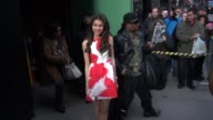 Zendaya Coleman at the 'Good Morning America' studio in New York NY on 3/14/13