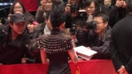 Zhou Xun at Flying Swords of Dragon Gate Premiere 62nd International Berlin Film Festival 2012 at Berlinale Palace on February 17 2012 in Berlin...