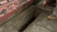 Holidaymakers warned that disease is expected to spread to Europe T11021624 / 1122016 PORTUGAL Madeira EXT Grating removed from water trap used to...