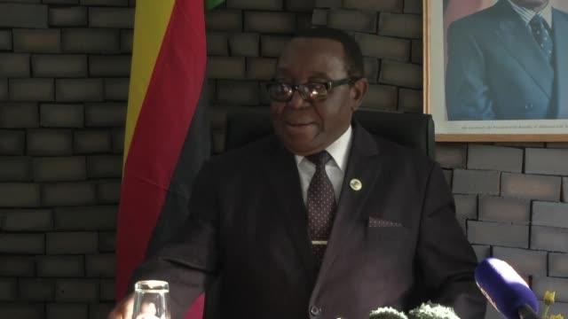 Zimbabwean President Robert Mugabe fired Vice President Emmerson Mnangagwa on Monday the government said as the battle between Mnangagwa and Mugabe's...