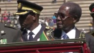 Zimbabwean President Robert Mugabe on Tuesday paid homage to the country's veterans for the national Armed Forces Day