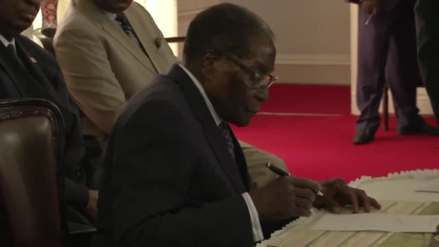 Zimbabwean President Robert Mugabe's cabinet reshuffle quashed opposition within his government state media said Tuesday as the 93 year old leader...