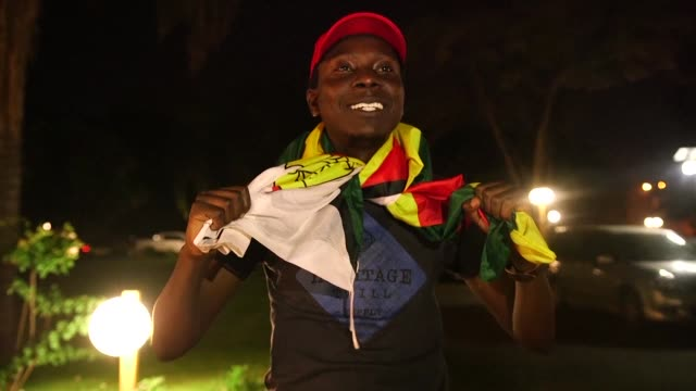 Zimbabweans react to president Robert Mugabe's resignation The 93 year old leader was swept from power as his 37 year reign of autocratic control and...