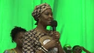 Zimbabwe's first lady Grace Mugabe accused of assault in South Africa where she has asked for diplomatic immunity returned home from a visit there...