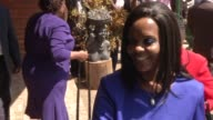 Zimbabwe's first lady Grace Mugabe appeares in public for the first time since she returned from South Africa where she was accused of assaulting a...