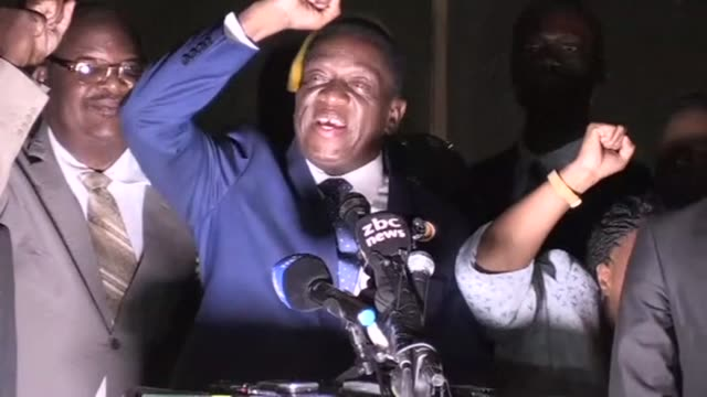 Zimbabwe's former vice president Emmerson Mnangagwa flew home on Wednesday to take power after the resignation of Robert Mugabe put an end to 37...
