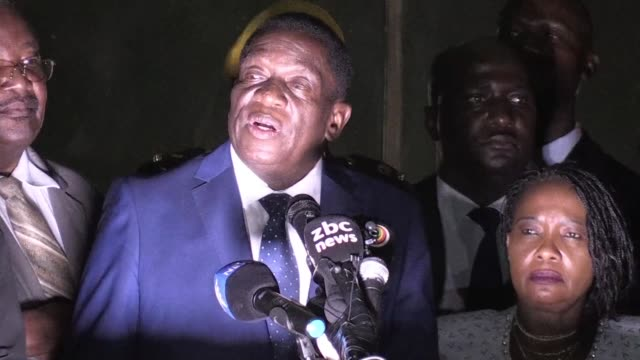 Zimbabwe's incoming president Emmerson Mnangagwa told adoring crowds in Harare on Wednesday that they were witnessing unfolding full democracy as he...