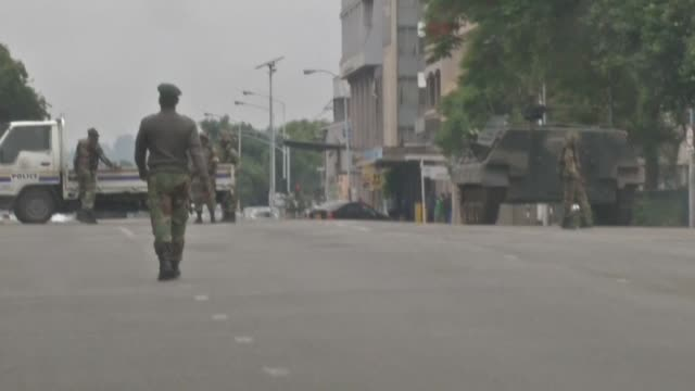 Zimbabwe's military appears to be in control of the country as generals denied staging a coup but used state television to vow to target criminals...