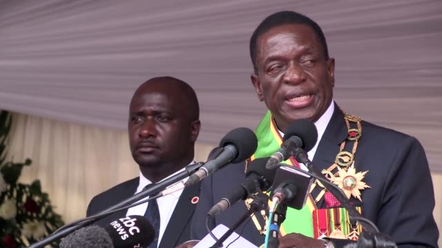 Zimbabwe's new President Emmerson Mnangagwa vowed sweeping change at his swearing in on Friday seeking to reassure foreign investors and pledging to...