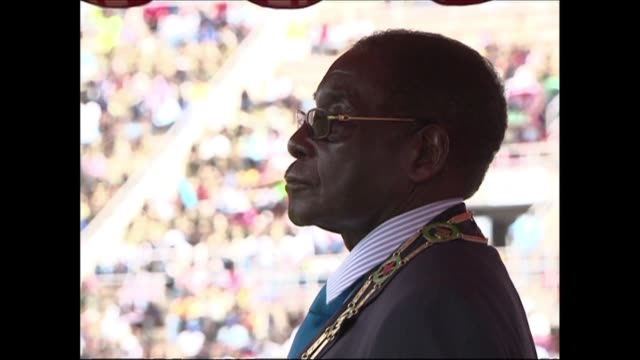 Zimbabwe's President Robert Mugabe is calling for elections this year which would end the powersharing government created with the opposition two...