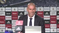 Zinedine Zidane says the most important thing for him as Real Madrid coach is to win games and maintain a close relationship with his players