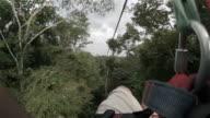 A zip ride in Costa Rica