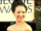 Ziyi Zhang at the 2006 Golden Globe Awards Arrivals at the Beverly Hilton in Beverly Hills California on January 16 2006