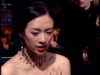Ziyi Zhang on her latest film at the The Orange British Academy Film Awards 2006 Red Carpet at London