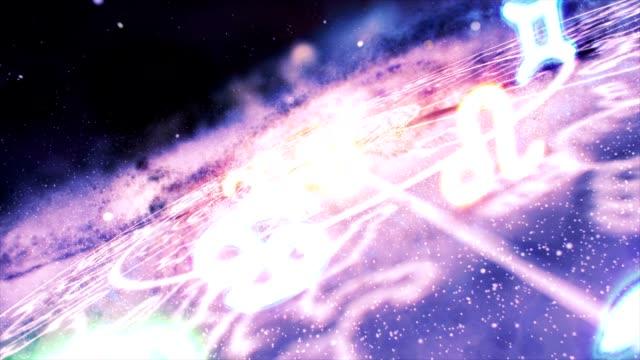 Zodiac Signs Space Galaxy