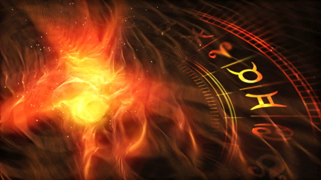 Zodiac Wheel (warm version)