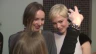 Zoe Kazan and Michelle Williams at the The Cinema Society Nancy Gonzalez Host A Screening Of 'Meek's Cutoff' at New York NY