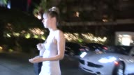Zoe Kazan departs the 19th Annual ELLE Women at Four Seasons Hotel In Hollywood 10/15/12