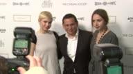 Zoe Kazan Kelly Reichardt and Michelle Williams at the The Cinema Society Nancy Gonzalez Host A Screening Of 'Meek's Cutoff' at New York NY