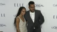 Zoe Kravitz and Twin Shadow at the 2015 ELLE Women in Hollywood Awards at Four Seasons Hotel Los Angeles at Beverly Hills on October 19 2015 in Los...