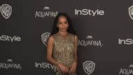 Zoe Kravitz at 17th Annual InStyle And Warner Bros Pictures Golden Globe AfterParty at The Beverly Hilton Hotel on January 10 2016 in Beverly Hills...