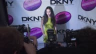 Zoe Kravitz at the DKNY Delicious Night Fragrance Launch Party at 711 Greenwich Street in New York New York on November 7 2007