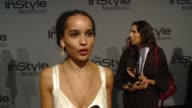 INTERVIEW Zoe Kravitz on being at the event her mother at InStyle Presents The Inaugural 'InStyle Awards' October 26 2015 in Los Angeles California