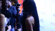 Zoe Kravitz on the red carpet attending the launch of her Ocean Drive Magazine cover at Wall Lounge at W Hotel in Celebrity Sightings in Miami...
