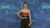 Zoe ListerJones at the HBO's Post Emmy Awards Reception Arrivals at The Plaza at the Pacific Design Center on September 18 2016 in Los Angeles...