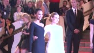 Zoe Saldana and Diane Kruger at the 'American Woman Fashioning A National Identity' Met Gala Arrivals at New York NY