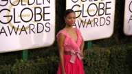 Zoe Saldana at 74th Annual Golden Globe Awards Arrivals at 74th Annual Golden Globe Awards Arrivals at The Beverly Hilton Hotel on January 08 2017 in...