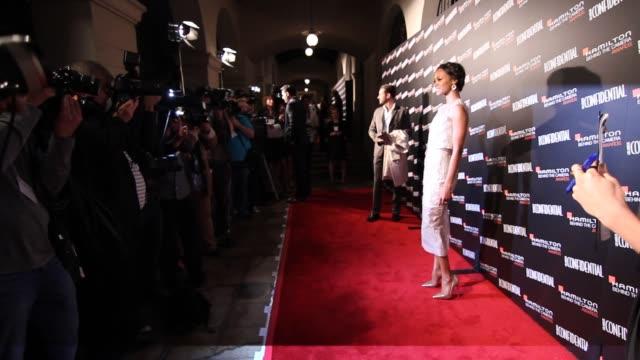 Zoe Saldana at 7th Annual Hamilton Behind The Camera Awards in Los Angeles CA on 11/10/13