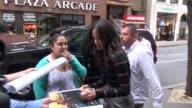Zoe Saldana at NBC Studios in New York NY on 5/16/13
